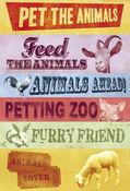 Pet The Animals Stickers by Karen Foster