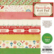 Peppermint 6 x 6 Paper Pack By Crate Paper