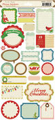 Peppermint Phrase Stickers By Crate Paper