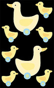 Ducks Stickers - Mrs Grossman's Stickers