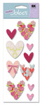 Loving Hearts Stickers - A Touch Of Jolee's