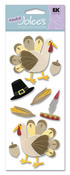 Thanksgiving Turkey Stickers - A Touch Of Jolee's