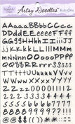 Black Letters Artsy Doodles