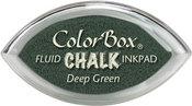 Deep Green Fluid Chalk Cat's Eye Inkpad