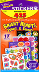 Bright Hearts, Stars, & Smiles Variety Pack Stickers by Trend