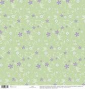 Tinker Bell Flower Glitter Disney Paper - EK Success