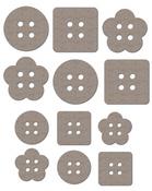 Plain Janes Buttons # 1