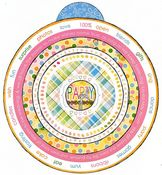 Birthday Girl Circle Sticker