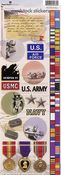 Military Stickers - Paper House Productions