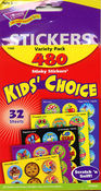 Kid's Choice Variety Pack Stickers by Trend