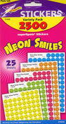 Neon Smiles Stickers by Trend