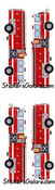 Fire Engines - Mrs Grossman's Stickers