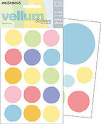 Vellum Spots - Mrs Grossman's Stickers