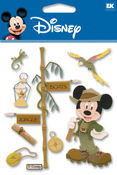 Jungle Mickey Disney Stickers - EK Success