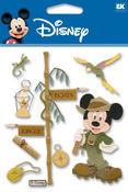 Jungle Mickey Disney Stickers - EK Success