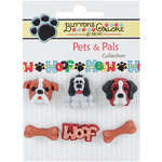 It's A Dogs Life Buttons - Buttons Galore
