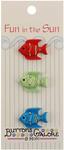 Tropical Fish Fun In The Sun Buttons