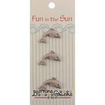 Dolphin Fun In The Sun Buttons