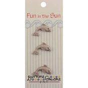 Dolphin Fun In The Sun Buttons