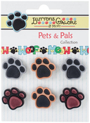 Precious Paws Pets & Pals - Buttons Galore