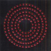 Ruby Circle Bling Frames