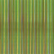 Monkey Stripes 12x12 Paper - Reminisce