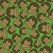 Monkey Face 12x12 Paper - Reminisce