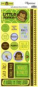 Monkey Business Phrases Stickers