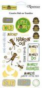 Monkey Business Rub-Ons