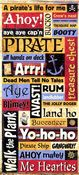 Pirate Words Stickers - Sandylion