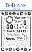 Winter Gem Rub-Ons by Bo Bunny