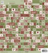 Sugar Plum Forest Words & Letters