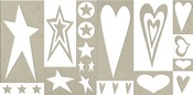 Rock Star Chipboard Accents