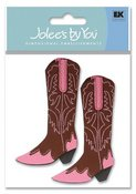 Women's Cowboy Boots  3-D Stickers - Jolee's By You
