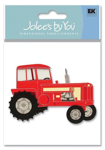 Tractor  3-D Stickers - Jolee's By You
