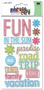 Vacation Epoxy Stickers