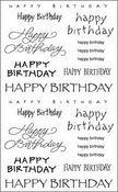 Happy Birthday Captions - Mrs Grossman's Stickers