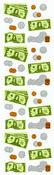 Money - Mrs Grossman's Stickers