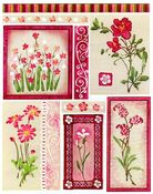 Flower Field Stickeroos - Penny Black