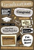 Graduation Stickers by Karen Foster