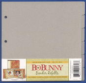 Bare Naked Binder Refills 9x9 by Bo Bunny
