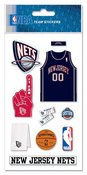 New Jersey Nets NBA Stickers