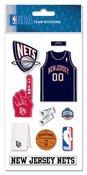 New Jersey Nets NBA Stickers