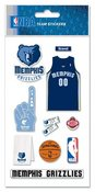 Memphis Grizzlies NBA Stickers