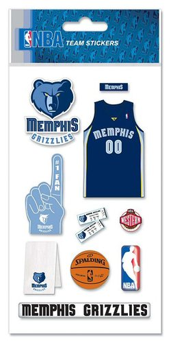 Memphis Grizzlies NBA Stickers