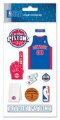 Detroit Pistons NBA Stickers