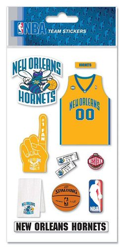 New Orleans Hornets NBA Stickers