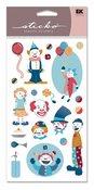 Clowns Vellum Sticko Stickers