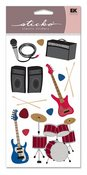 Rock & Roll Vellum Sticko Stickers