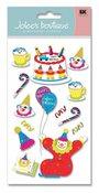 Clown Birthday  Stickers - Jolee's Boutique